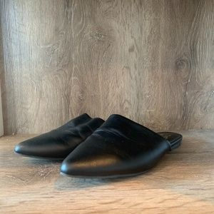 Mix no 6 Black Loafer Mule Flat sz 9